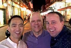 Bryan Del Rosario, Eric Hozempa, and Brad